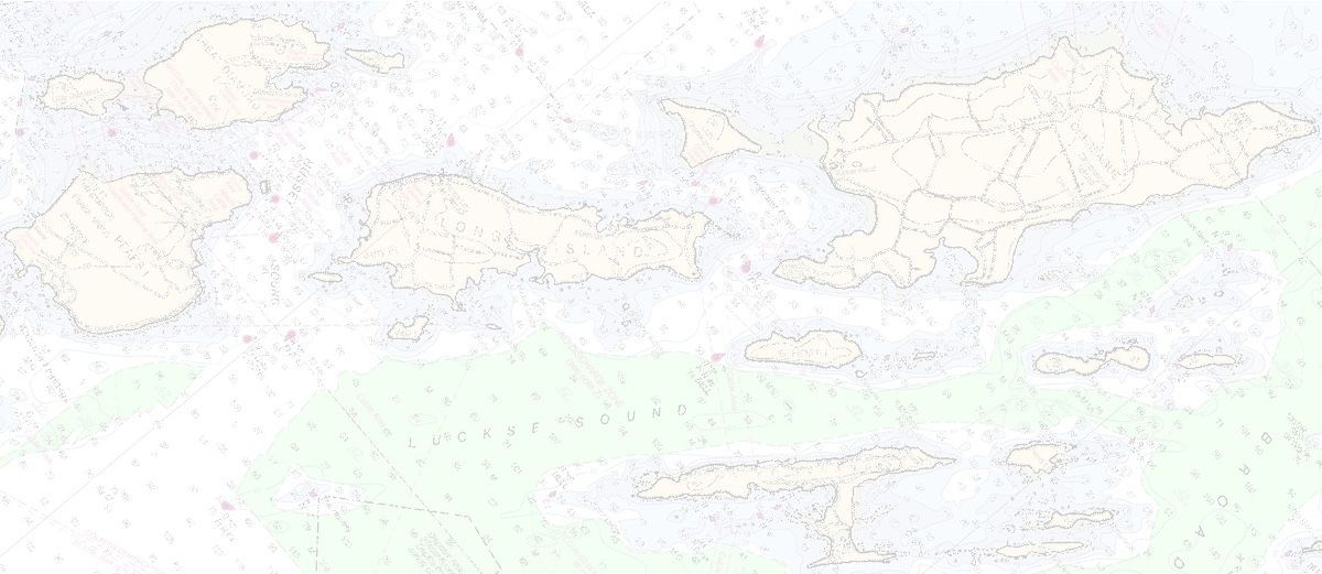 Nautical Chart of Casco Bay