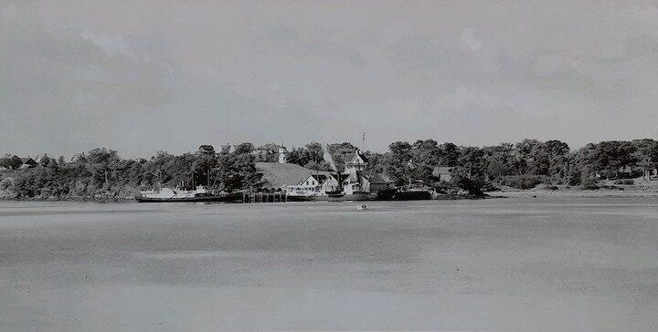 Healy Cottage on Little Diamond Island