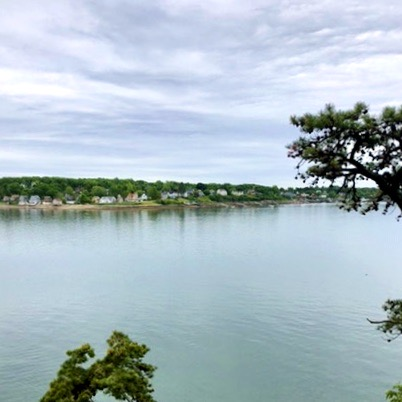 Little Diamond Island Lot owned by Oceanside Conservation Trust of Casco Bay